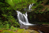 Wasserfall in San Abondio im Tessin