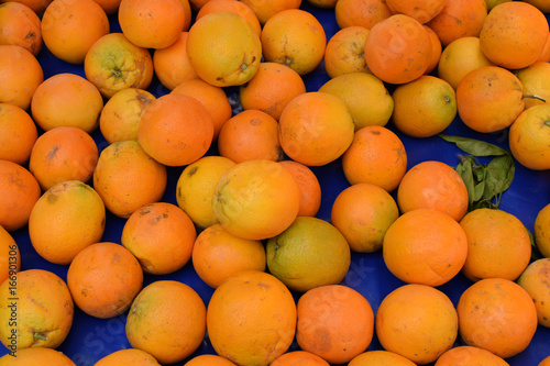 orange fruit background - 166901306