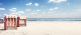 Strandkorb an der Ostsee - 166903747