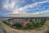 Panoramic cityscape in Novi Sad, Serbia - 166913157