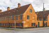 Nyboder. Historical residence for people working in the Danish Navy.