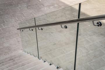 poręcz szklana balustrada