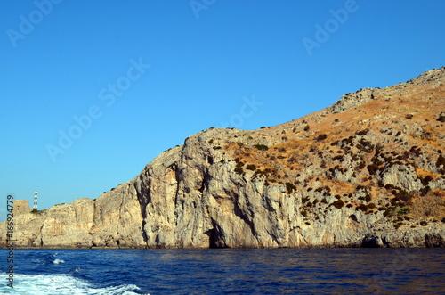 Foto op Aluminium Napels Steilküste am Golf von Neapel