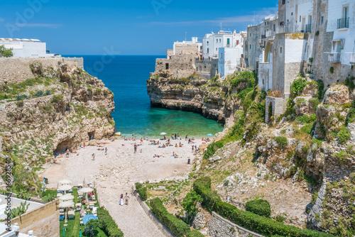 Poster Oceanië Scenic sight in Polignano a Mare, Bari Province, Apulia, southern Italy.