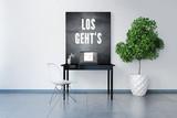 3D Visualisierung eines Laptop-Arbeitsplatzes mit motivierendem Spruch auf der Tafel