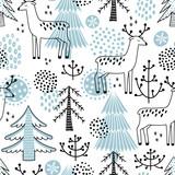 Christmass seamless vector pattern
