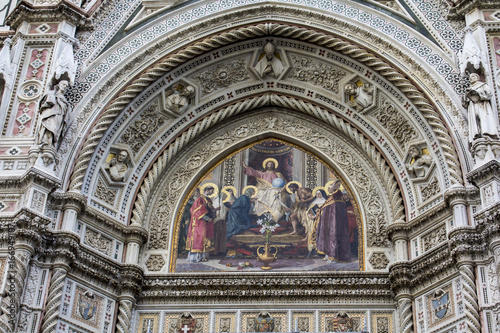 Foto op Canvas Florence FIRENZE, ITALIA - LUGLIO 25, 2017: il Duomo di Santa Maria del Fiore - Toscana