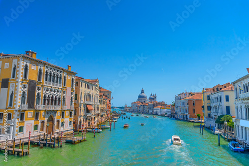 Foto op Canvas Venetie Famous view on Grand canal in Venice
