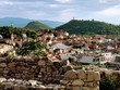 City view from the top of a hill in Plovdiv, Bulgaria - 166967532