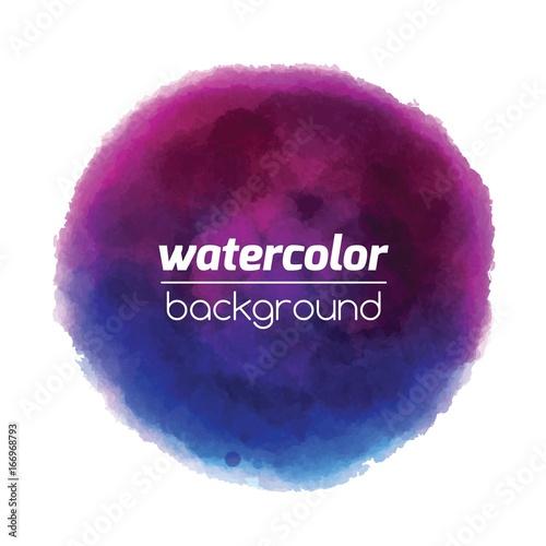 Unique Watercolor Tag For Business Shop