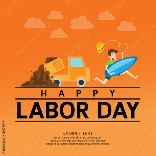 1st may, happy labor day