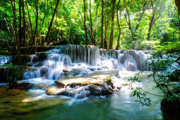 waterfall kanchanaburi thailand © Tony