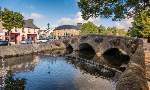 Westport bridge in county Mayo, Ireland