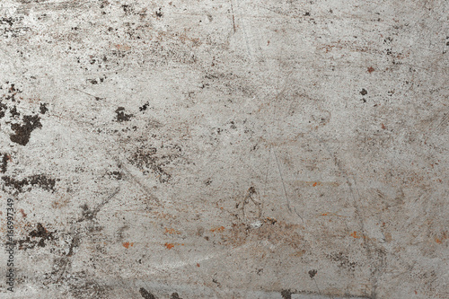 Background metal sheet. Space for text.