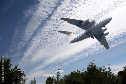 Passenger Airplane Take-Off Poster