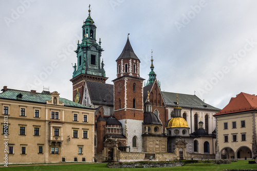 Foto op Aluminium Krakau Wawel Royal Castle in Cracow, Poland