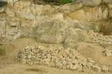 Kamieniołom z piaskowcem i wapieniem
