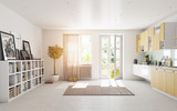 modern kitchen - 167033520