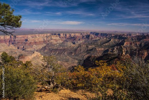 Deurstickers Arizona Grand Canyon from Cape Royal in the Fall