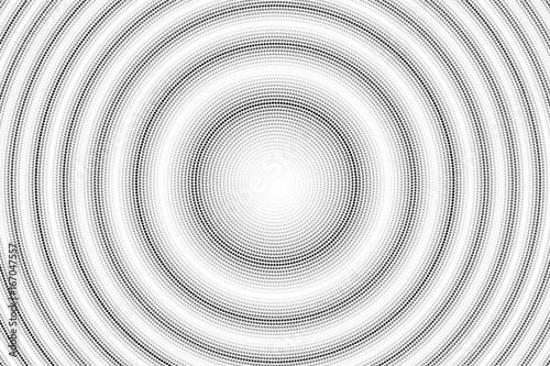 Vagues de cercles en spirale