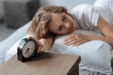 Selective focus of an alarm clock - 167059376