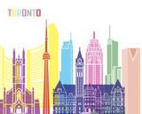 Toronto V2 skyline pop