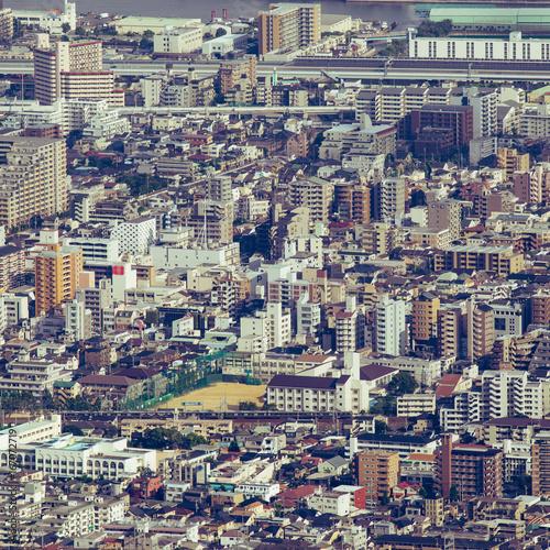 Foto op Canvas Bleke violet 都市風景 展望