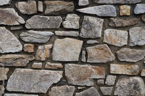 Foto op Canvas Stenen old stone wall texture