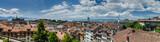 Fototapety Large panoramic aerial view of Lausanne city, Switzerland