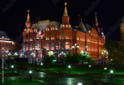 Foto op Plexiglas Moskou Исторический музей