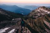 Wieczór w górach