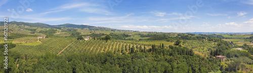 Tuinposter Toscane Toskana-Impressionen, bei Vinci im Chianti-Gebiet