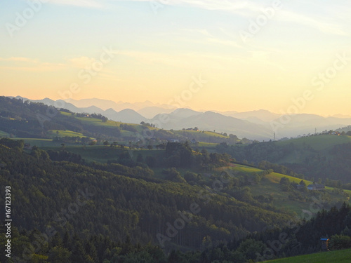 Bergpanorama Hochkogel