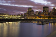 Montreal blue hour