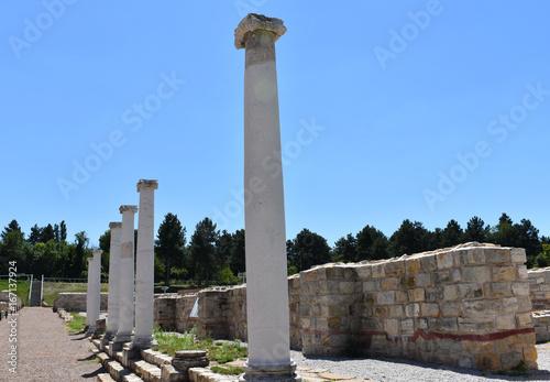 Novae Archaeological Site Bulgaria Europe