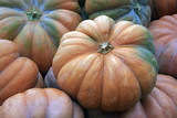 Big pumpkins. Fair of a pumpkins in California - 167146723