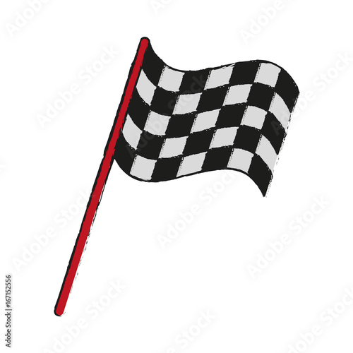 final lap flags icon image