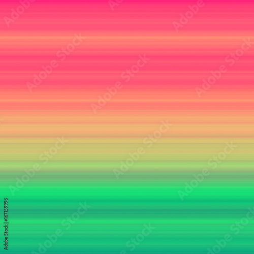 Tropical stripes. Gradient striped background. Abstract tropic backdrop.
