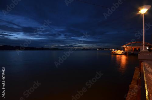 Sunset view in Kota Kinabalu, Sabah
