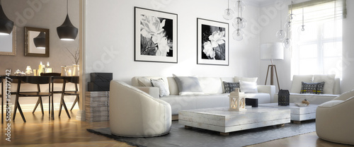 Raumadaptation: Wohnzimmer (panoramisch)
