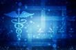 2d rendering medical logo
