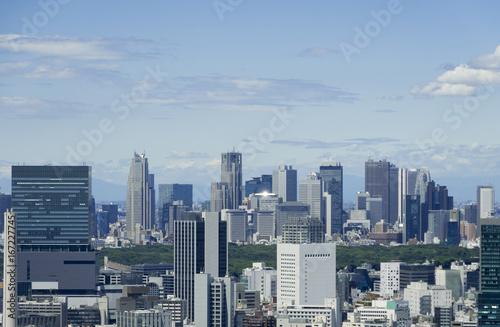 Deurstickers Tokio 東京風景