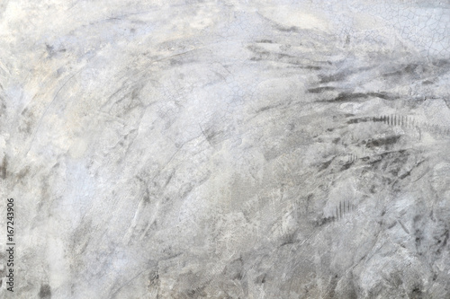 Grey concrete loft style wall background.Polished cement wall.