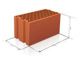 Brique monomur et ses dimensions (reflet) - 167256114