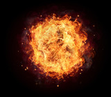 Fire Background - 167264970