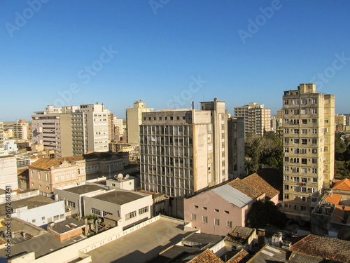 Foto op Aluminium Rio de Janeiro Cityscape of the city Pelotas, in the state of Rio Grande do Sul, Brazil