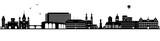 Mainz Skyline schwarz - 167284300