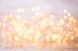 Abstract gold bokeh. Christmas and new year theme background. - 167286716