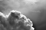 Overcast sky. Dark sky background