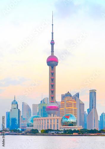 Plexiglas Shanghai Shanghai modern architecture, China
